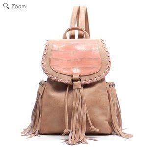 Handbags - NEW Fashion Fringe Backpack